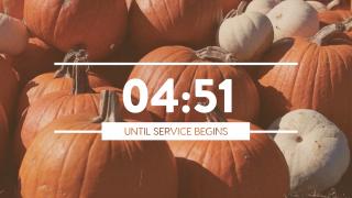Pumpkin Film Countdown