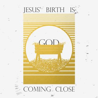 Jesus' Birth Social Graphics