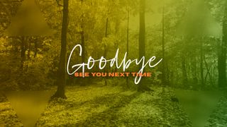 Forest Goodbye Slide