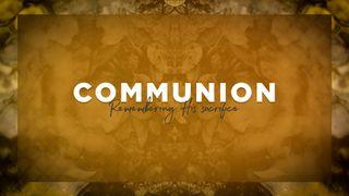 Orange Communion Slide