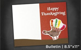 Thanksgiving | Bulletin 8x11