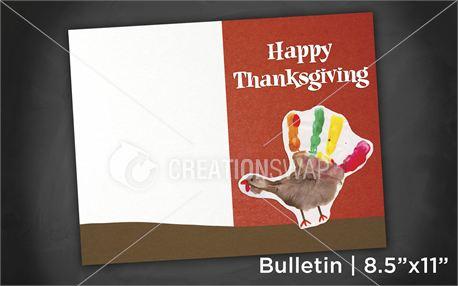 Thanksgiving | Bulletin 8x11 (11000)