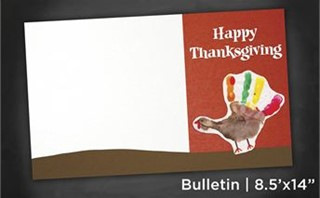 Thanksgiving | Bulletin 8x14