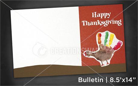 Thanksgiving | Bulletin 8x14 (11001)