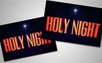 Holy Night Post card's