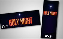 Holy Night Banners