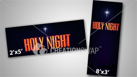 Holy Night Banners (11022)
