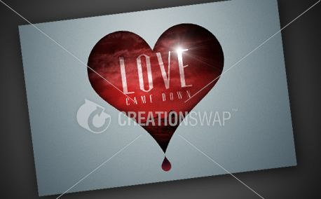 Love Came Down   Postcard (11109)
