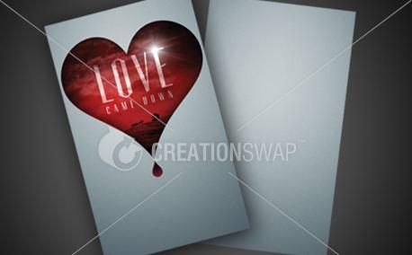 Love Came Down | Invite Card (11117)