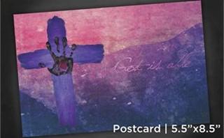 God is able | Postcard 5x8