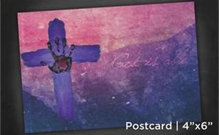 God is able | Postcard 4x6