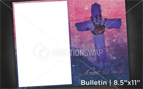 God is able   Bulletin 8x11 (11178)