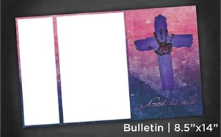 God is able | Bulletin 8x14