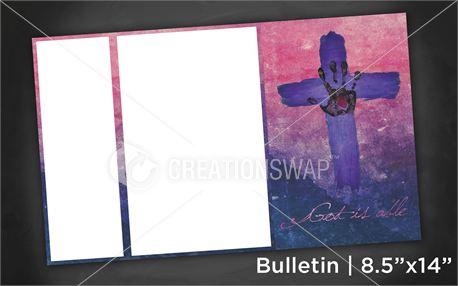God is able | Bulletin 8x14 (11181)