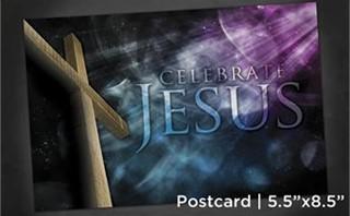 Celebrate Jesus   Postcard