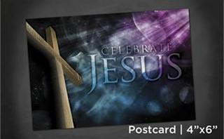 Celebrate Jesus | Postcard 4x6