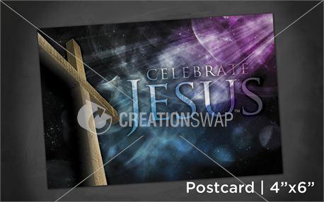Celebrate Jesus | Postcard 4x6 (11206)