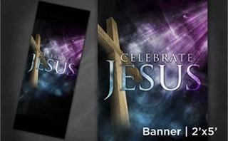 Celebrate Jesus | Banner 2x5