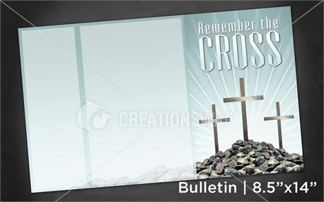Remember Cross | Bulletin 8x14 (11268)