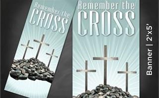 Remember Cross | Banner 2x5