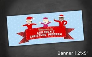 Children Christmas | Banner2x5