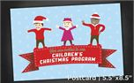Children Christmas  Postcrd5x8 (11325)
