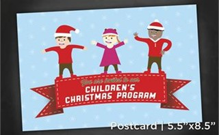Children Christmas |Postcrd5x8