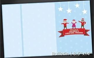 ChildrenChristmas|Bulletin8x14