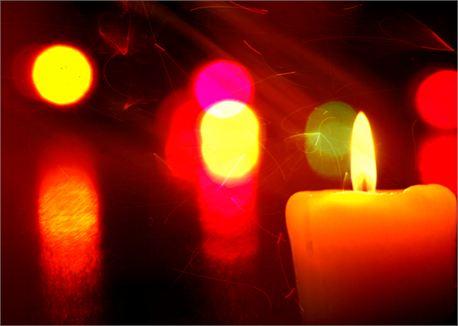 christmas candles (11718)