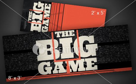 The Big Game | Banners (12016)