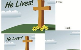 He Lives - Postcard