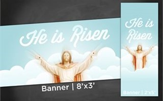 He is Risen | Banners