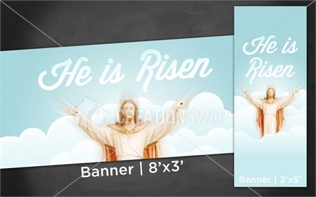 He is Risen | Banners (12228)