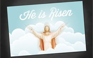 He is Risen | Postcards