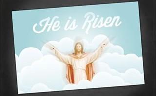 He is Risen | Postcards