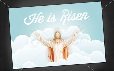 He is Risen   Postcards (12232)
