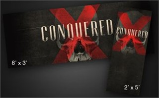 Conquered | Banner
