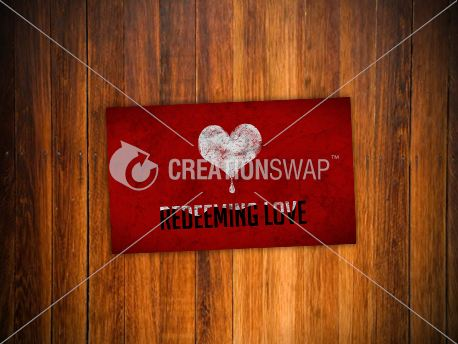 Redeeming Love   Invite Card (12580)