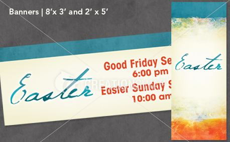 Easter Canvas - Banners (12667)