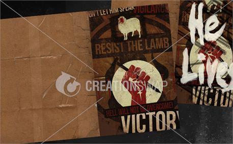 Resist Easter 1 Bulletin (12778)