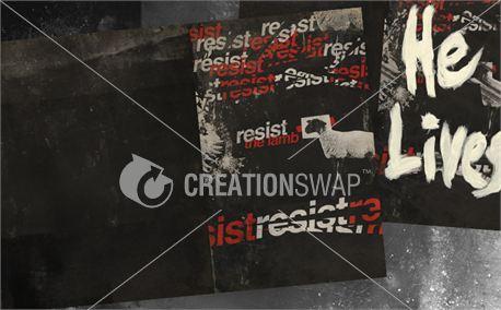 Resist Easter 5 Bulletin (12789)