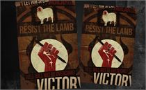 Resist Easter 1 Postcards
