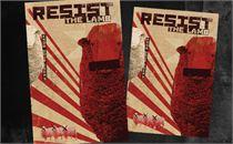 Resist Easter 3 Postcards