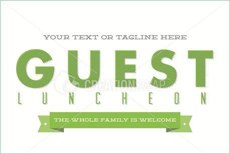 Guest Luncheon postcard (12881)