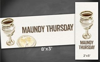Maundy Thursday | Banners