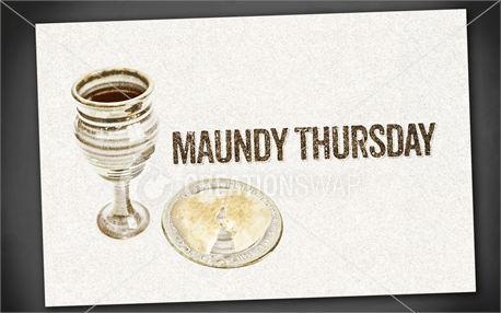 Maundy Thursday | Postcards (12987)