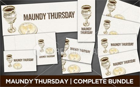 Maundy Thursday | Bundle (12996)