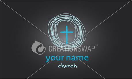 Wire Cross Logo (13033)