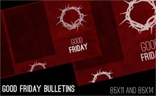 Good Friday Bulletins