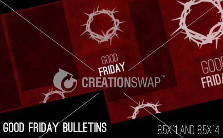 Good Friday Bulletins (13071)